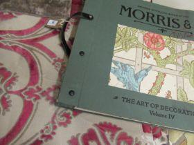 2005 Morris & Co. volume 4 sample book, together with a Malabar ' Tivoli ' Velvets sample book