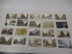 Twenty postcards, Croydon related including thirteen RP's, mainly views of the High Street