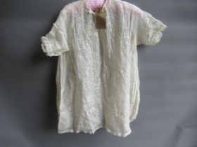 Early 20th Century child's lacework gown