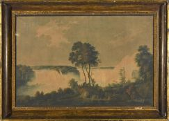 AFTER GEORGE BULTEEL FISHER (1764-1834) VIEW OF THE FALLS OF NIAGARA, NORTH AMERICA - TAKEN FROM A