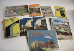 TRAIN CATALOGUES & BOOKS - BASSETT LOWKE an interesting group including catalogues by Bassett