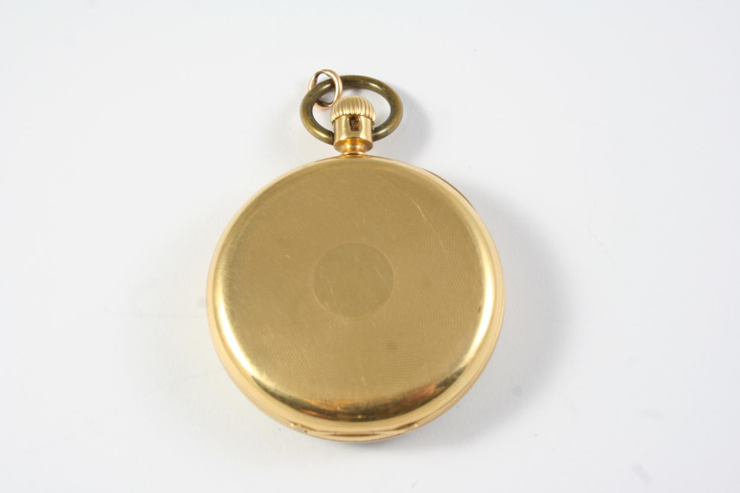 AN EARLY KEYLESS 18CT GOLD OPEN FACED POCKET WATCH BY NICOLE & CAPT, 14 SOHO SQ., LONDON the - Image 5 of 6