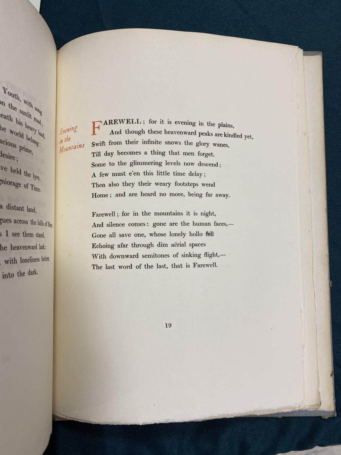 Sassoon, Siegfried. Sonnets, one of 50 copies, original cloth backed boards uncut, 4to, [No - Image 4 of 7