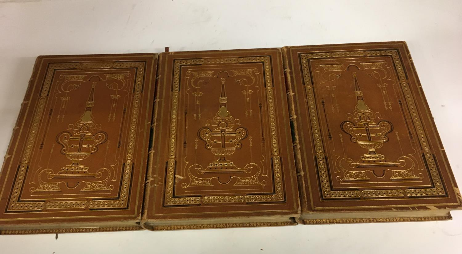 Shakespeare, William. The Complete Works, 3 volumes, plates, contemporary full morocco, decorated - Image 4 of 7