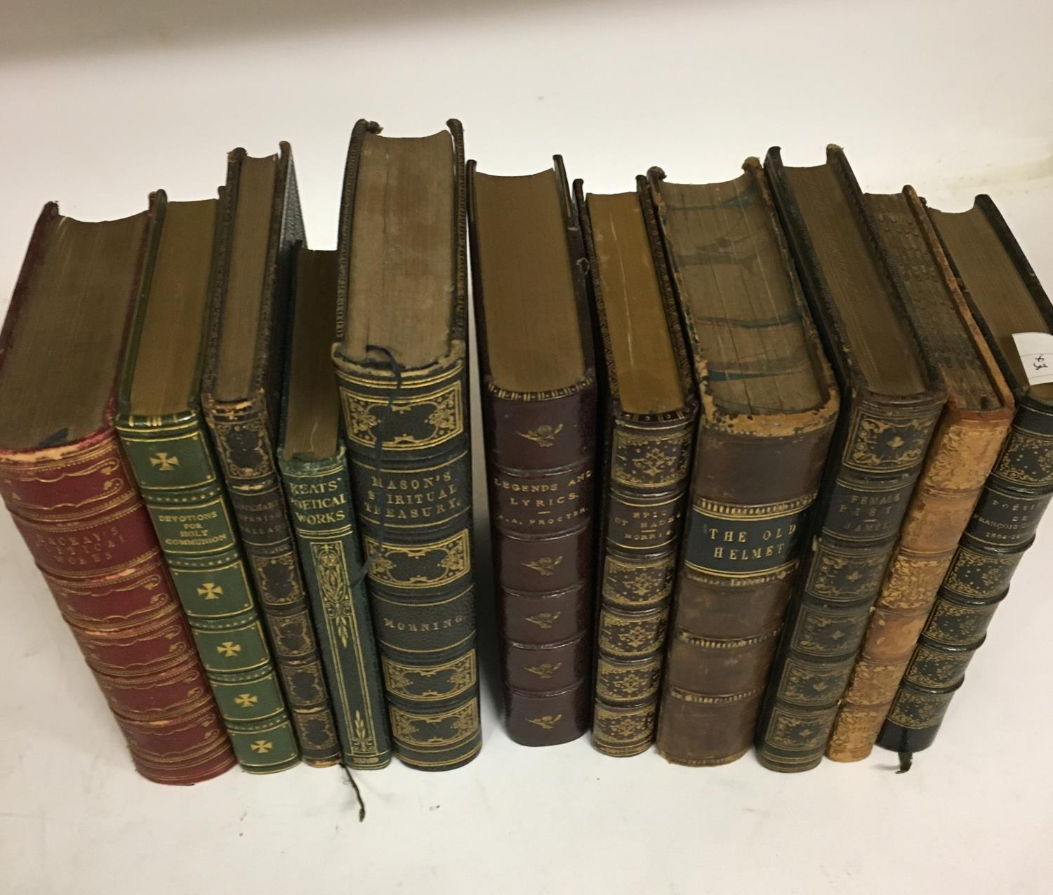 Shakespeare, William. The Complete Works, 3 volumes, plates, contemporary full morocco, decorated - Image 5 of 7