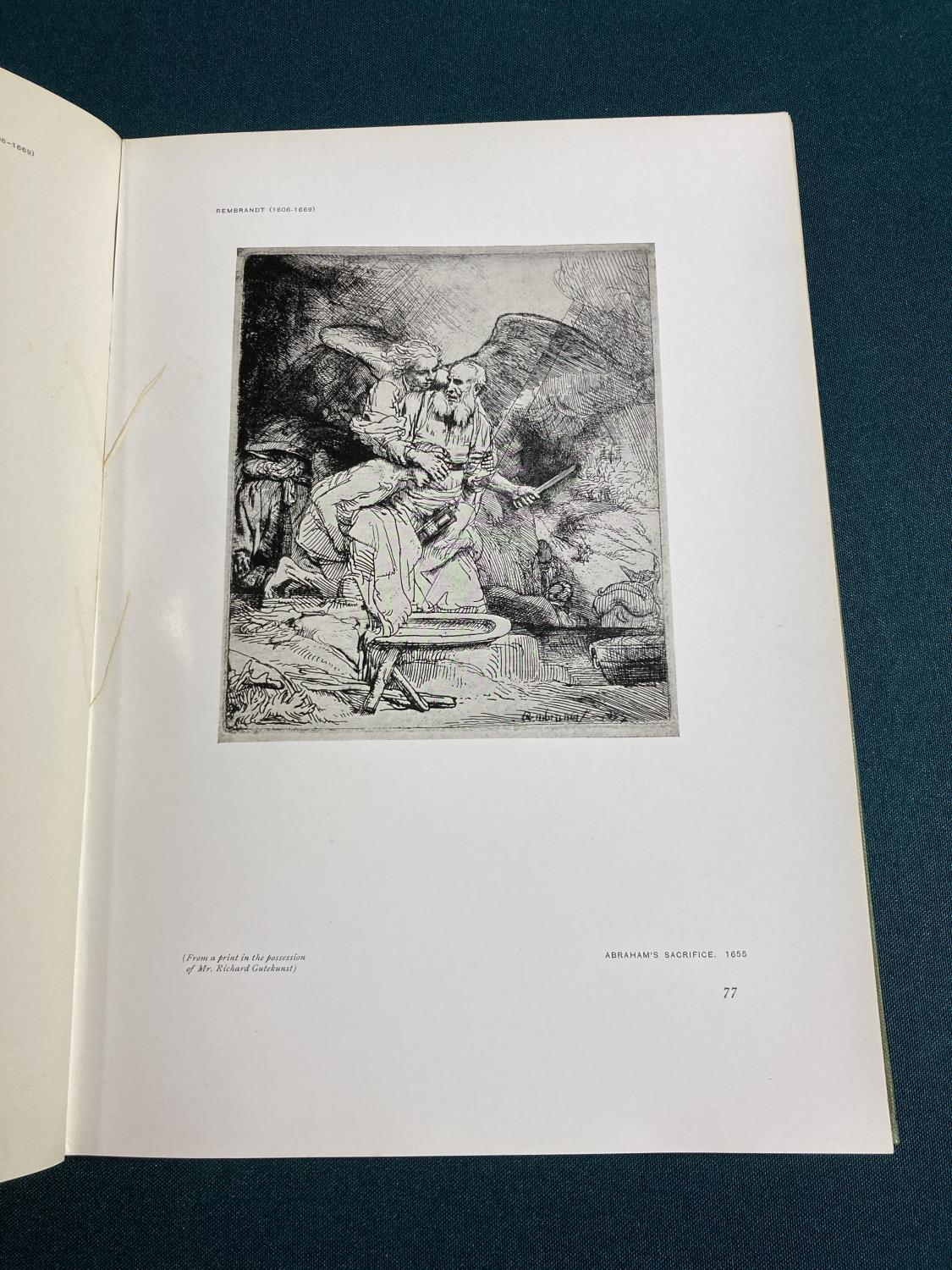 Dodgson, Cambell. The Etchings of James McNeill Whistler, plates, original vellum-backed boards, - Image 17 of 21