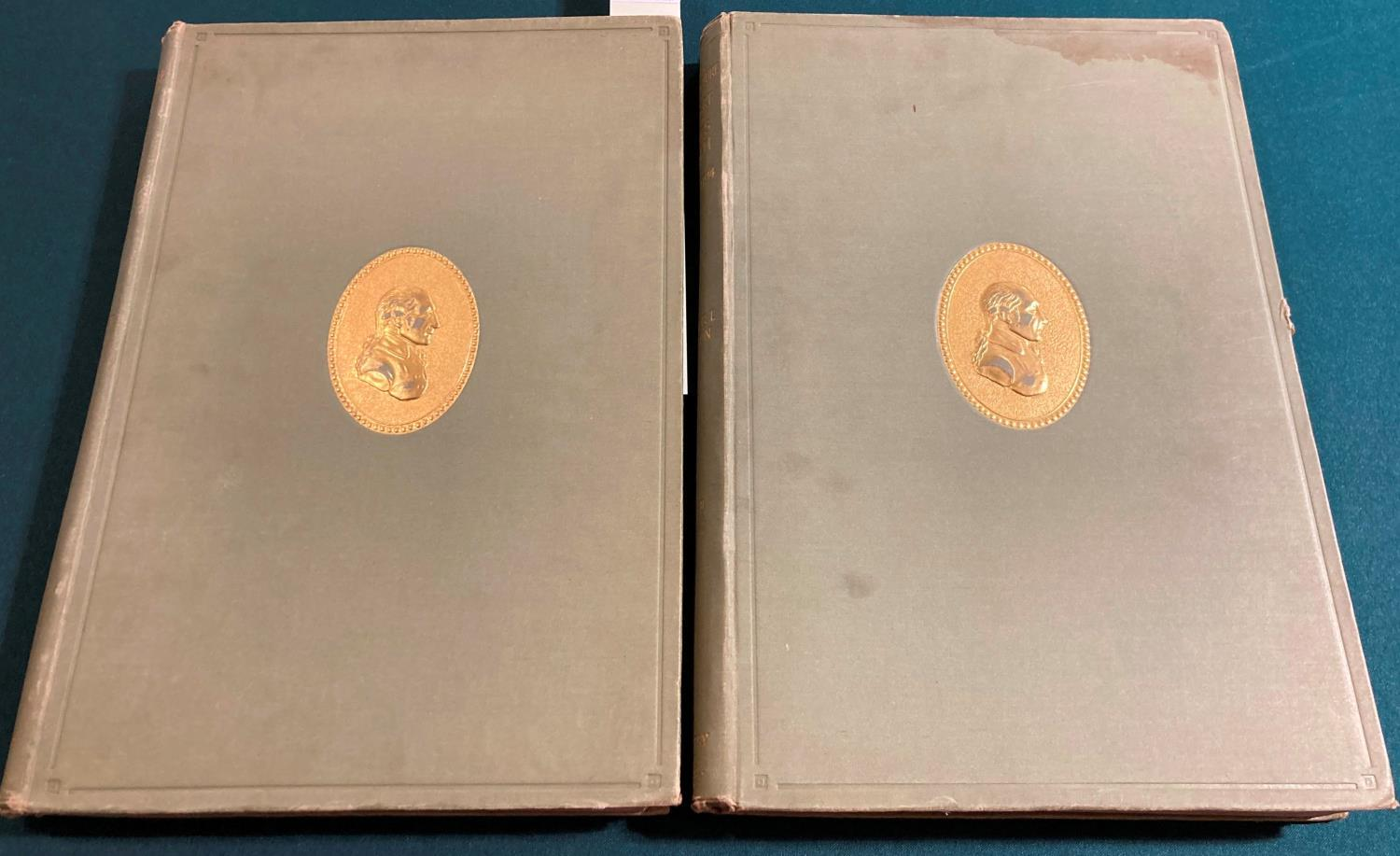 Bolton, Arthur T. The Architecture of Robert and James Adam, 2 volumes, first edition, plates,