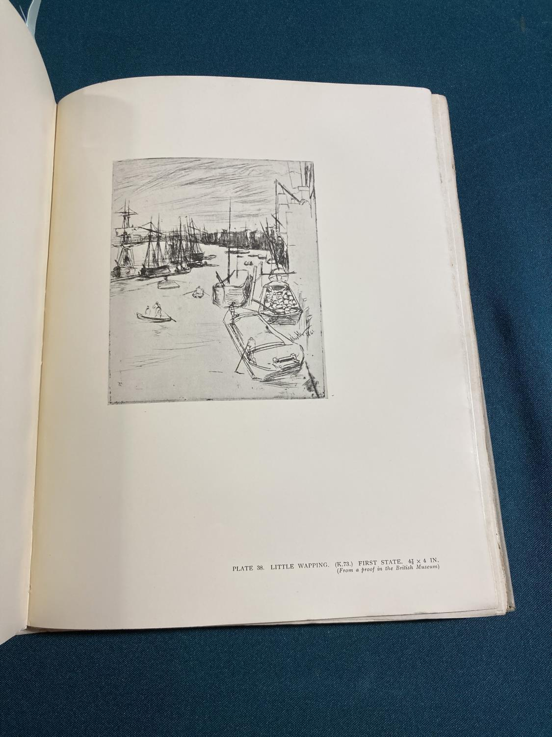 Dodgson, Cambell. The Etchings of James McNeill Whistler, plates, original vellum-backed boards, - Image 5 of 21