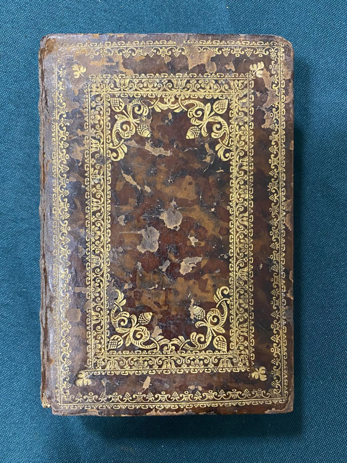 [Anon] Beatae Mariae Virginis Officium, engraved throughout, frontispiece, vignette on title and