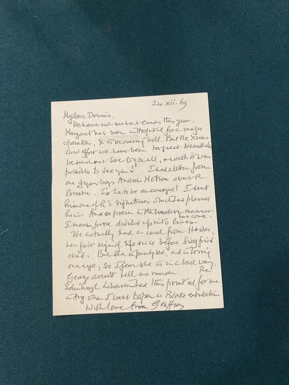 Keynes, Sir Geoffrey. Henry James in Cambridge, portrait frontispiece, presentation copy to Dennis - Image 13 of 23