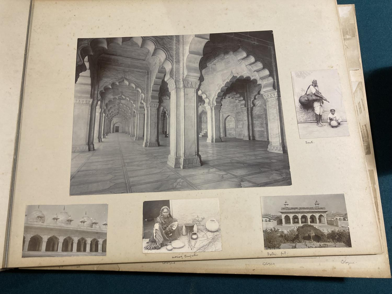 India. An early twentieth-century photograph album containing approx. 120 mounted photographs - Image 4 of 10