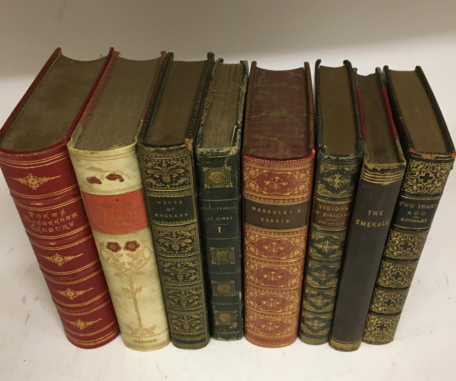 Shakespeare, William. The Complete Works, 3 volumes, plates, contemporary full morocco, decorated - Image 7 of 7