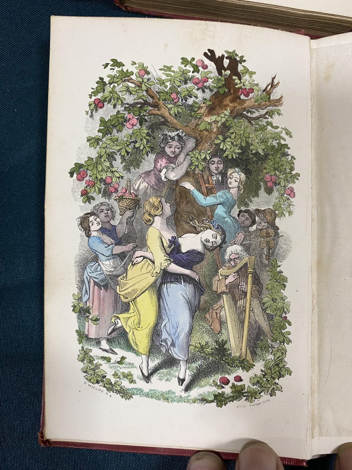 Dickens, Charles. [Christmas Books] The Chimes: A Goblin Story, first edition, first issue, 1845; - Image 4 of 4