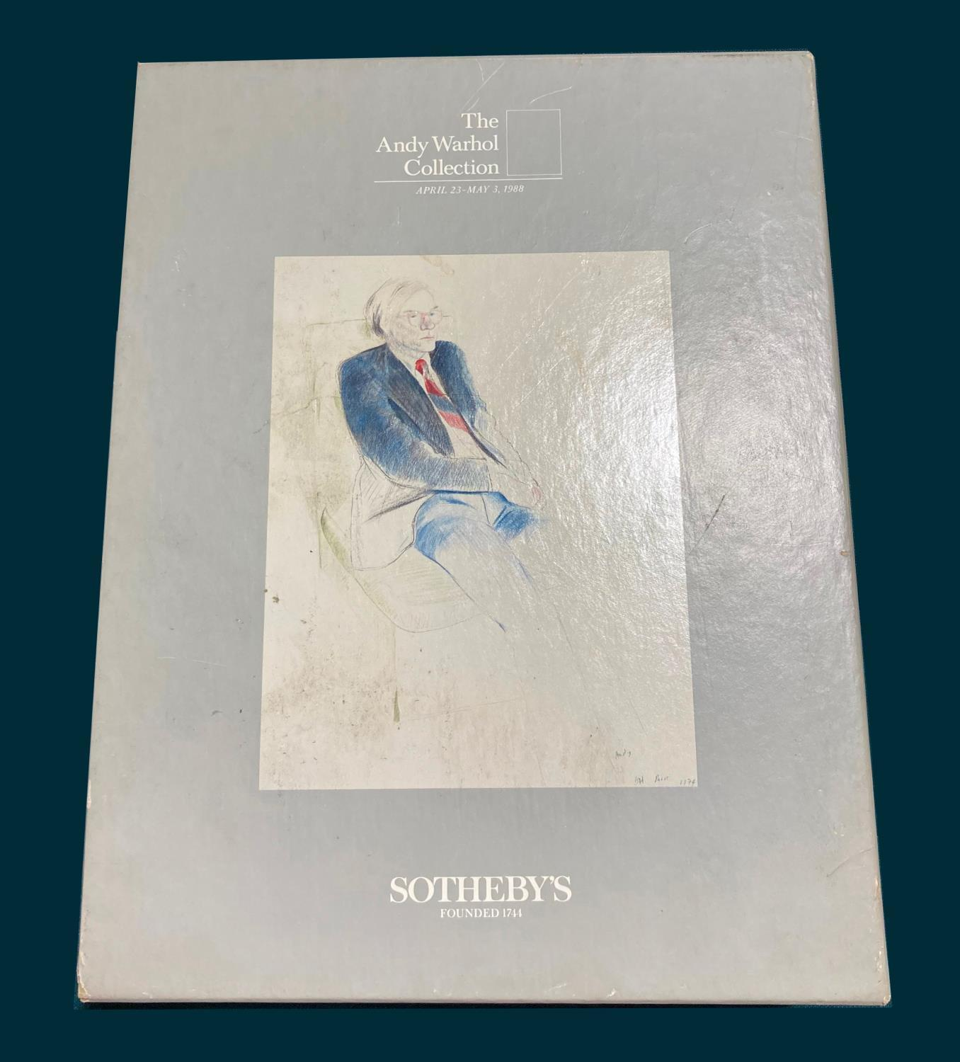 Auction Catalogues. The Andy Warhol Collection, 6 volumes, Sotheby's, 1988; The Edward James