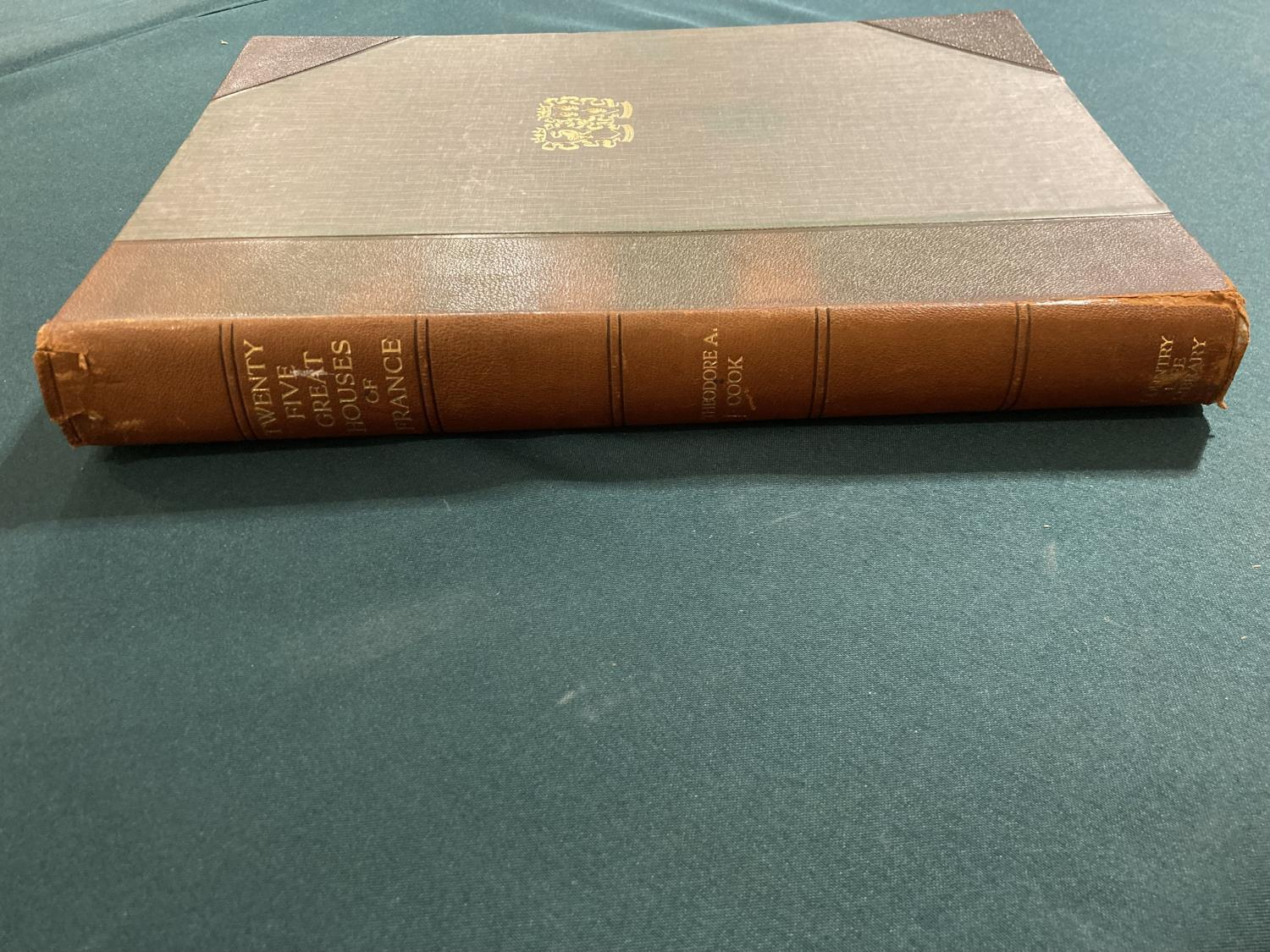 Bolton, Arthur T. The Architecture of Robert and James Adam, 2 volumes, first edition, plates, - Image 5 of 22