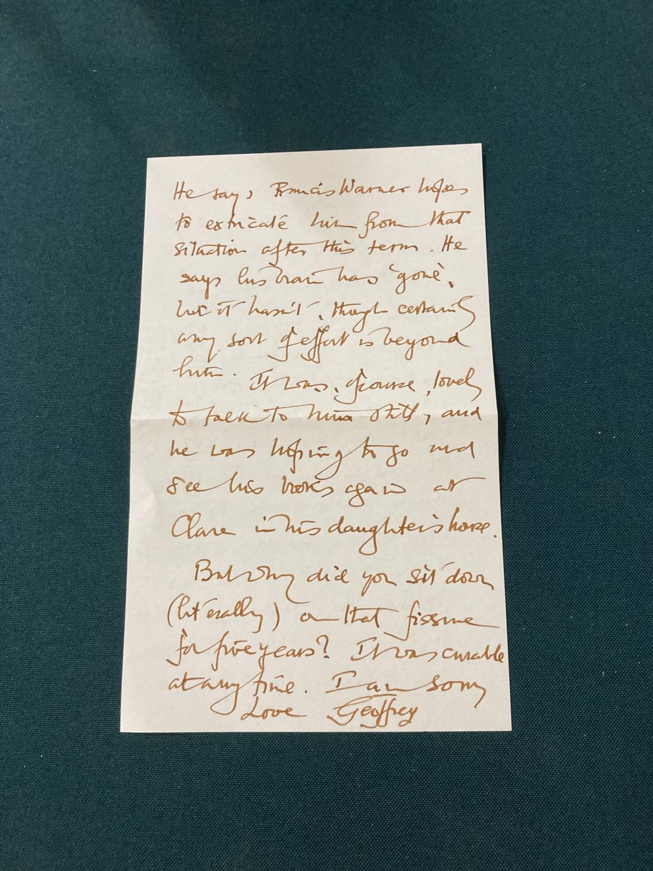 Keynes, Sir Geoffrey. Henry James in Cambridge, portrait frontispiece, presentation copy to Dennis - Image 7 of 23