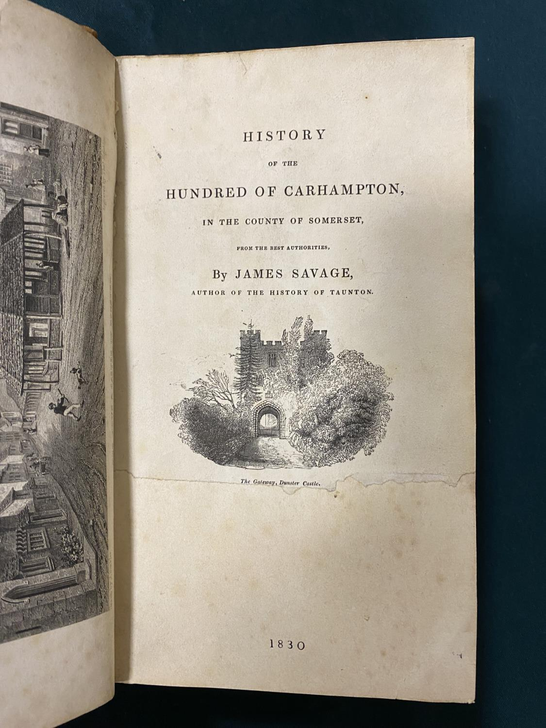 Healey, Charles E. H. Chadwick. The History of the Part of West Somerset, one of 380 copies, plates, - Image 2 of 8