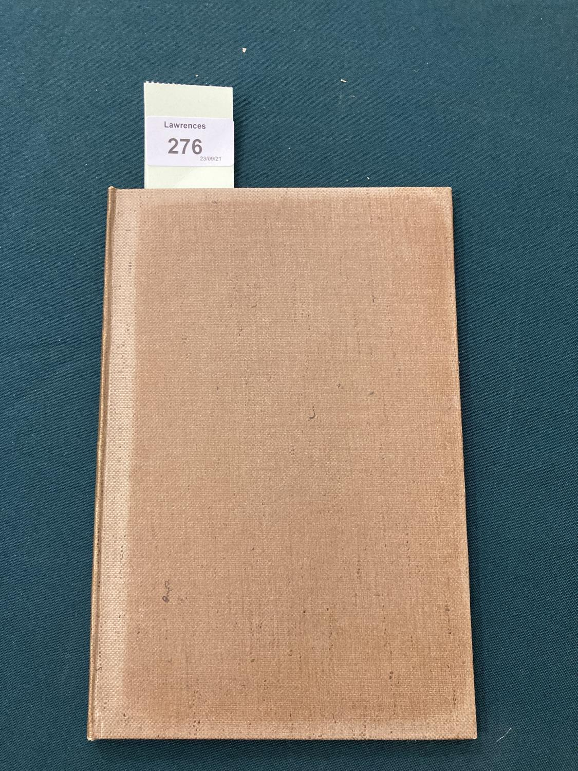 Sassoon, Siegfried. Lingual Exercises for Advanced Vocabularies, one of 99 copies, inscribed by - Image 3 of 6