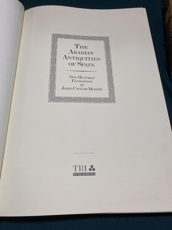Murphy, James Cavanah. The Arabian Antiquities of Spain, number 289 of 500 copies, facsimile - Image 3 of 5