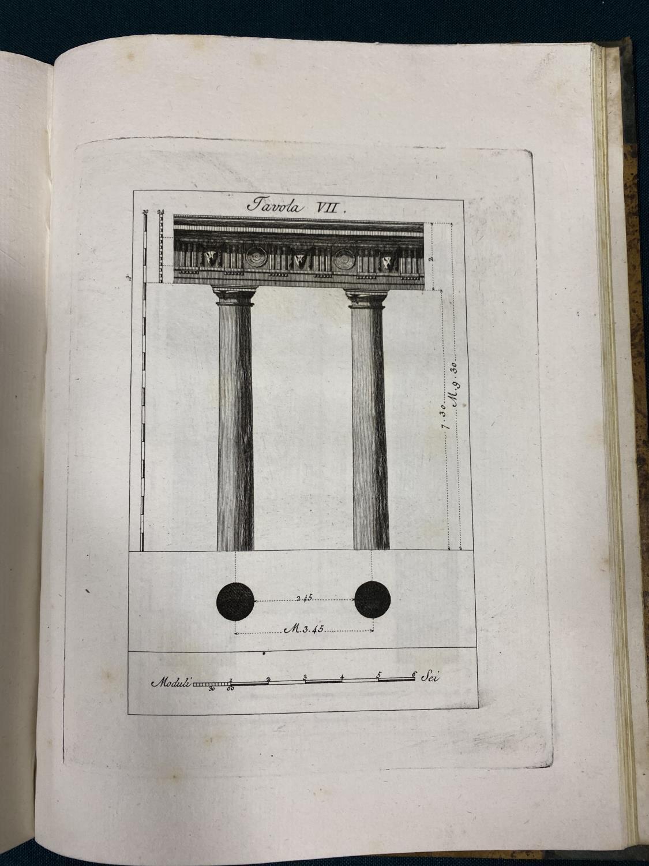 Sanese, Gio. Battista Cipriani. Elementi di Architettura di Andrea Palladio, 28 engraved plates, - Image 4 of 4