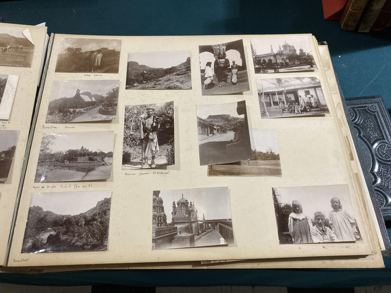 India. An early twentieth-century photograph album containing approx. 120 mounted photographs - Image 7 of 10