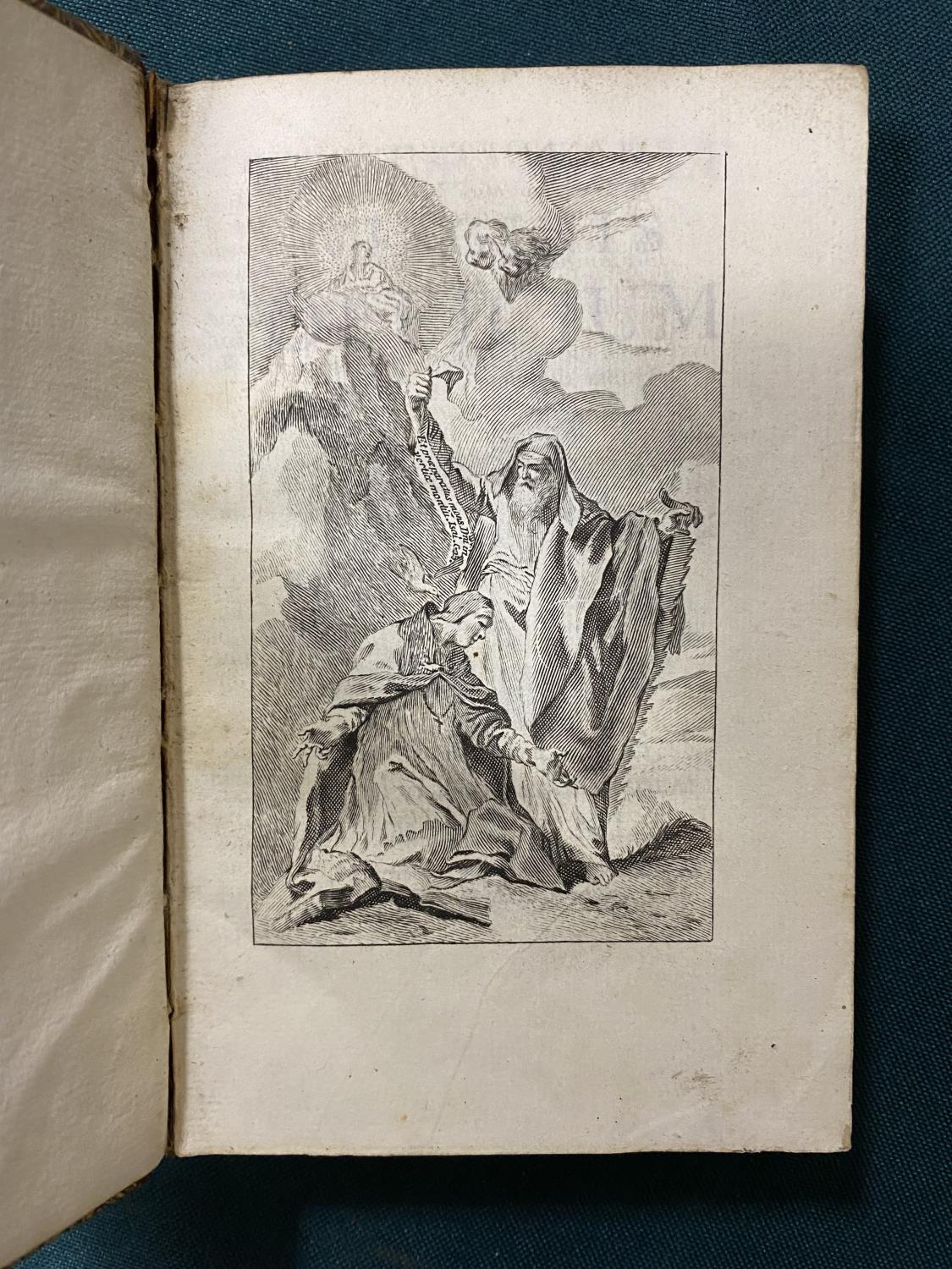 [Anon] Beatae Mariae Virginis Officium, engraved throughout, frontispiece, vignette on title and - Image 3 of 4