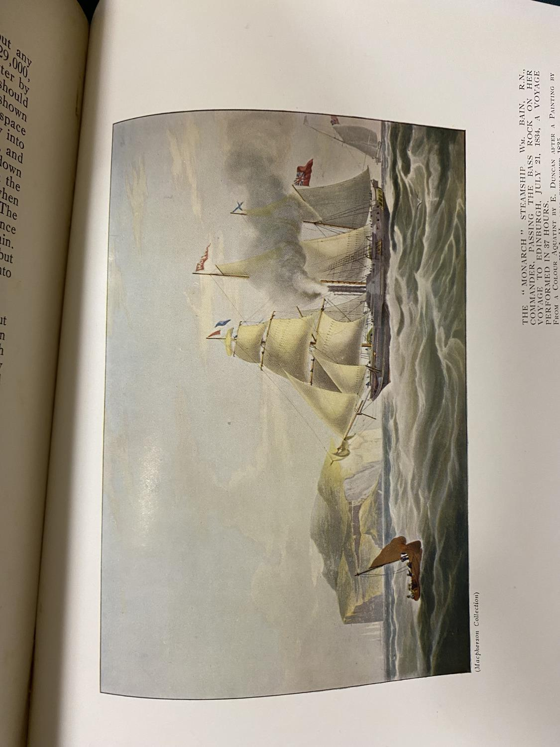 Bowen, Frank Charles. The Sea, Its History and Romance, 4 volumes, first edition, plates, some - Image 6 of 6