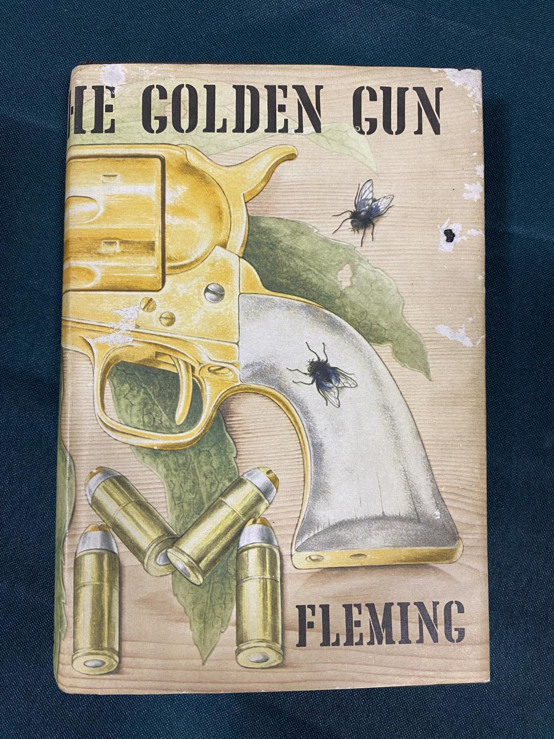 Fleming, Ian. The Man with the Golden Gun, first edition, half-title, original cloth, dust-jacket,