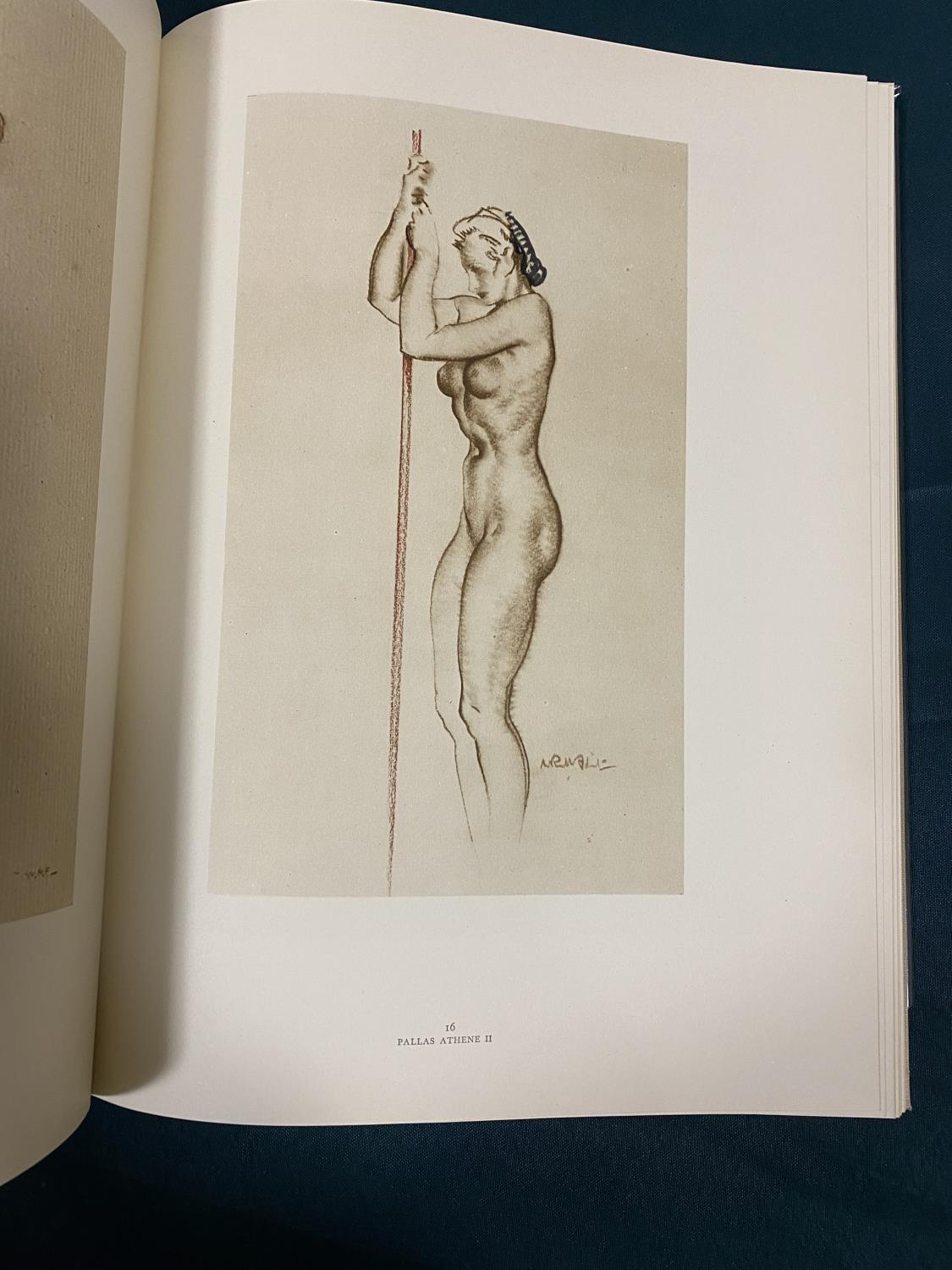 Flint, William Russell. Drawings, number 25 of 125 copies, signed by the artist, with an ORIGINAL - Image 2 of 5