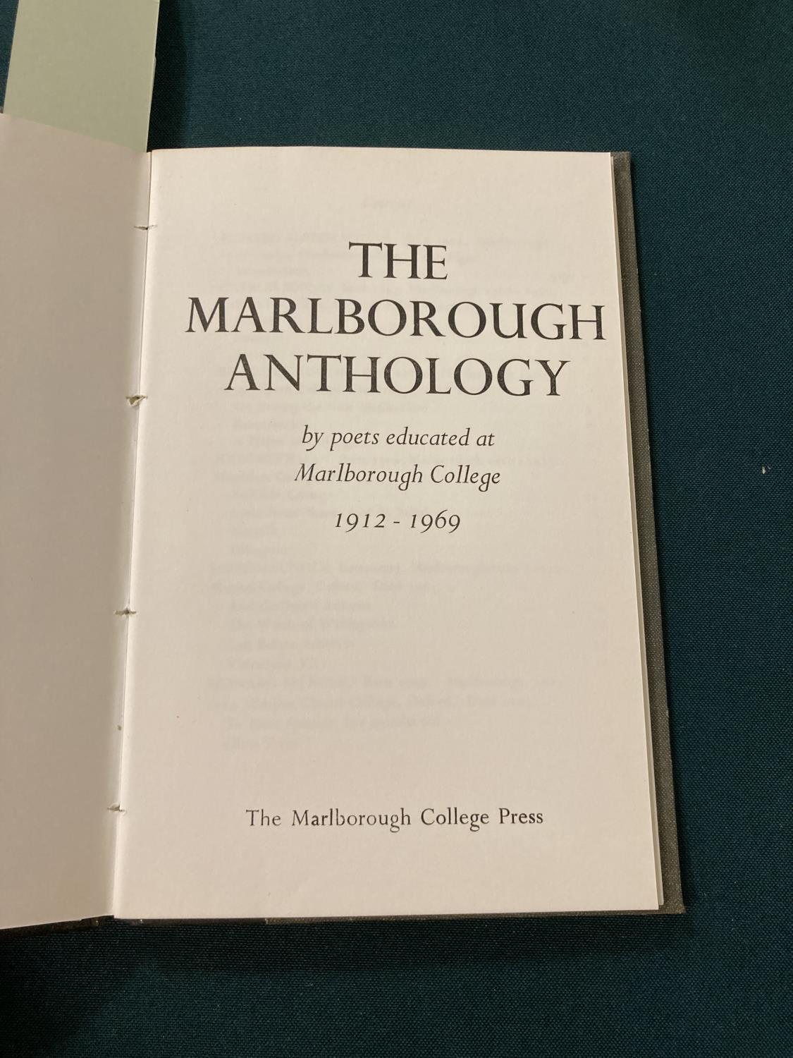 Sorley, Charles Hamilton. Marlborough and other poems, first edition, photographic portrait - Image 2 of 9
