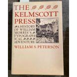 Peterson, William S. The Kelmscott Press, first edition, plates, illustrations, original cloth,