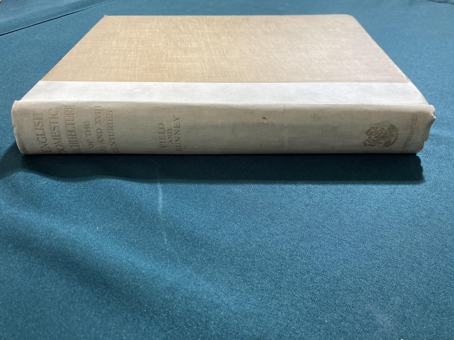 Bolton, Arthur T. The Architecture of Robert and James Adam, 2 volumes, first edition, plates, - Image 7 of 22