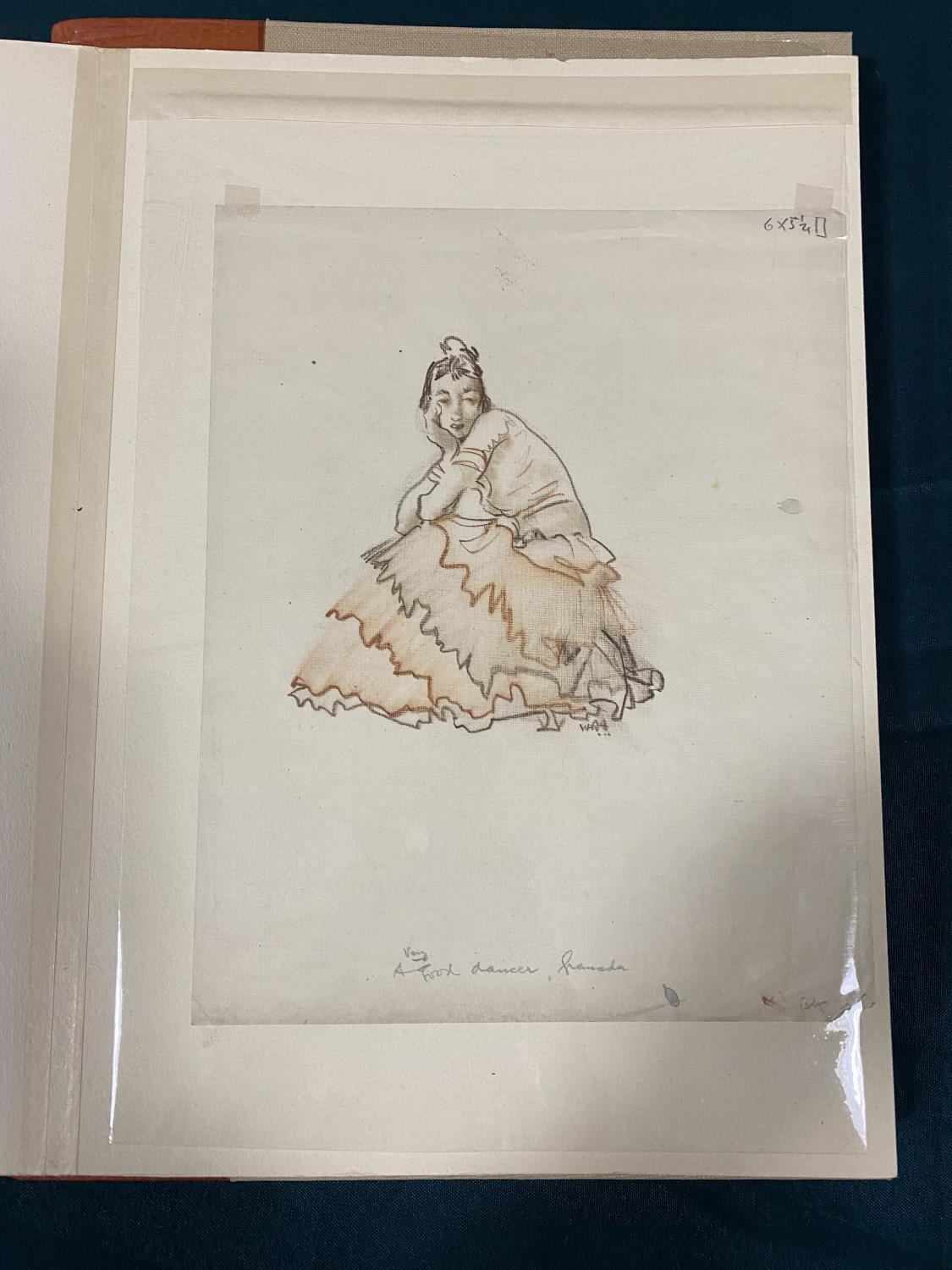 Flint, William Russell. Drawings, number 25 of 125 copies, signed by the artist, with an ORIGINAL