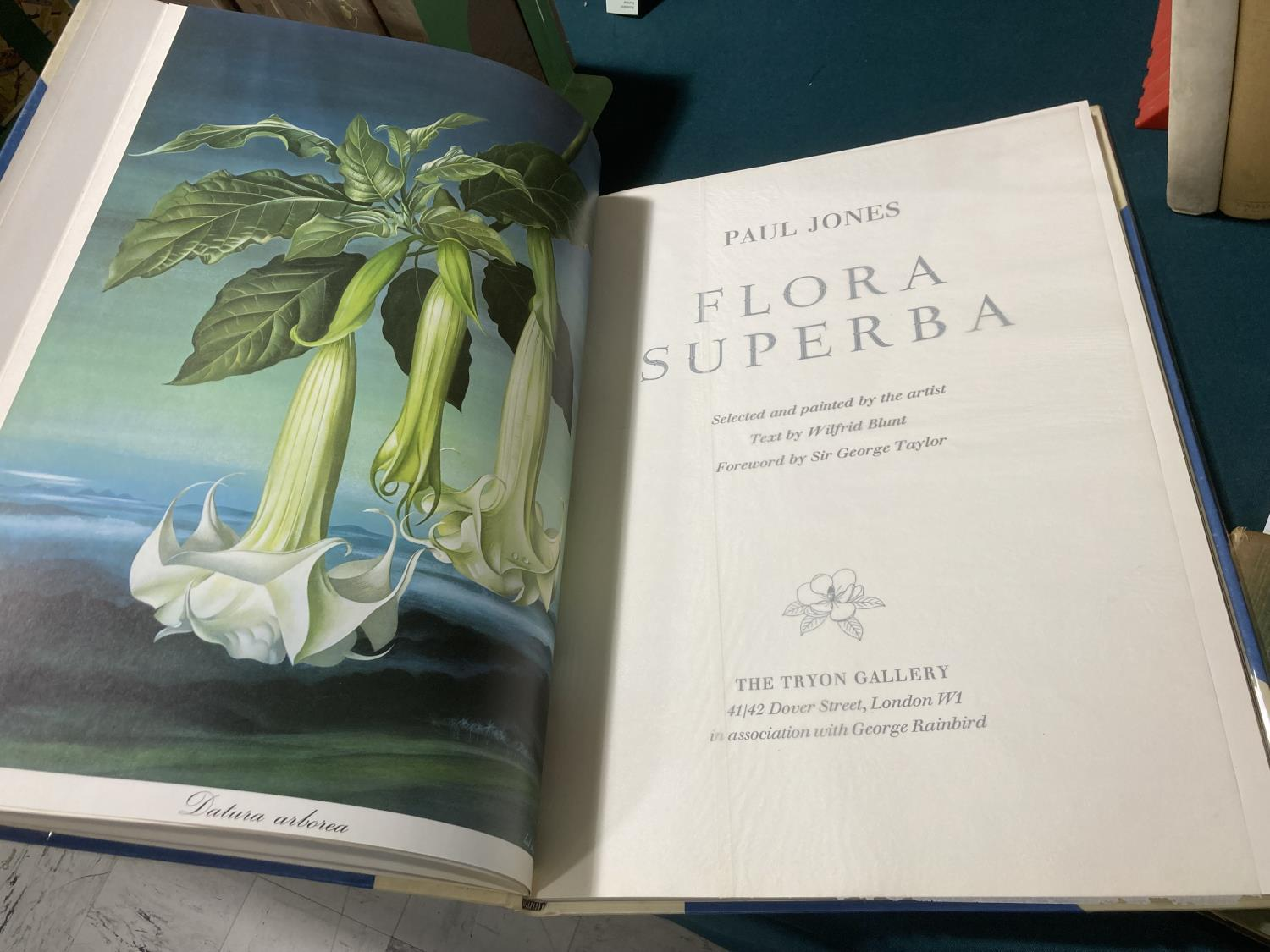 Jones, Paul. Flora Superba... text by Wilfrid Blunt, number 94 of 406 copies, 16 coloured plates, - Image 6 of 6