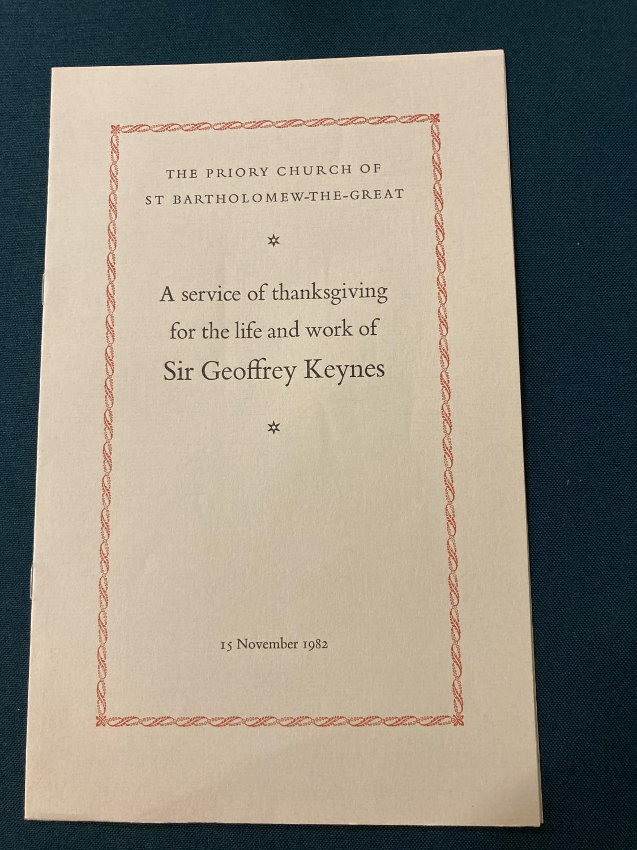 Keynes, Sir Geoffrey. Henry James in Cambridge, portrait frontispiece, presentation copy to Dennis - Image 17 of 23