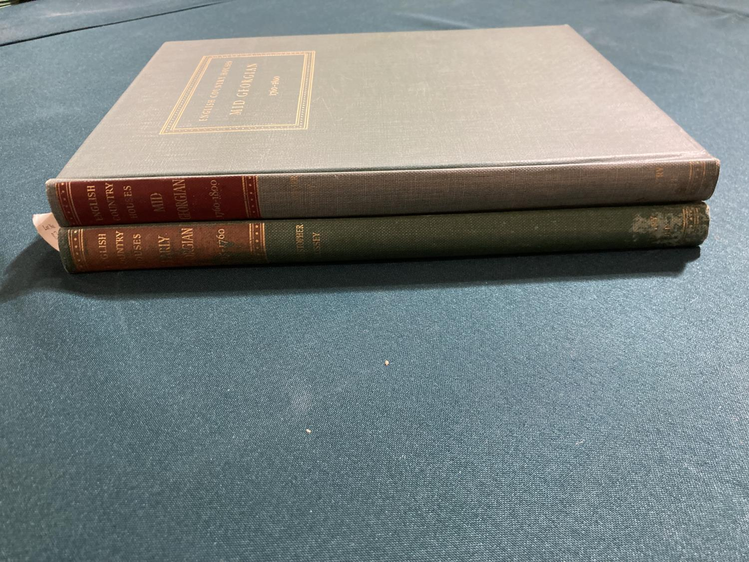 Bolton, Arthur T. The Architecture of Robert and James Adam, 2 volumes, first edition, plates, - Image 13 of 22