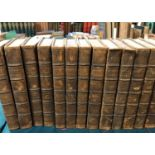 Dryden, John. The Works... with Notes... by Sir Walter Scott, 18 volumes, engraved portrait