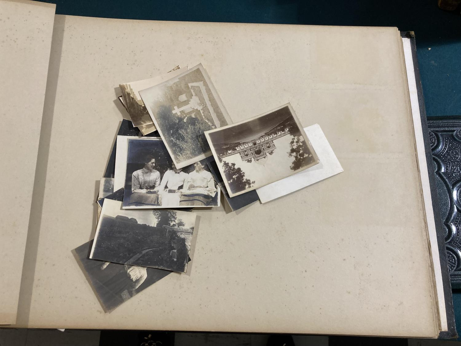 India. An early twentieth-century photograph album containing approx. 120 mounted photographs - Image 10 of 10