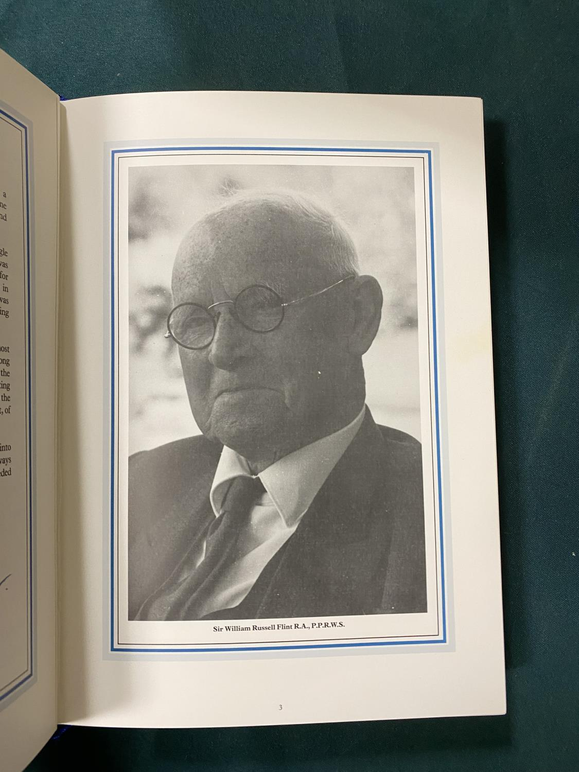 Gardner, Keith S. Sir William Russell Flint 1880-1969. A Comparative Review of the Artist's Signed - Image 2 of 5