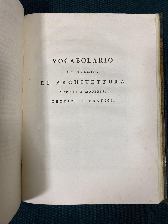 Sanese, Gio. Battista Cipriani. Elementi di Architettura di Andrea Palladio, 28 engraved plates, - Image 3 of 4