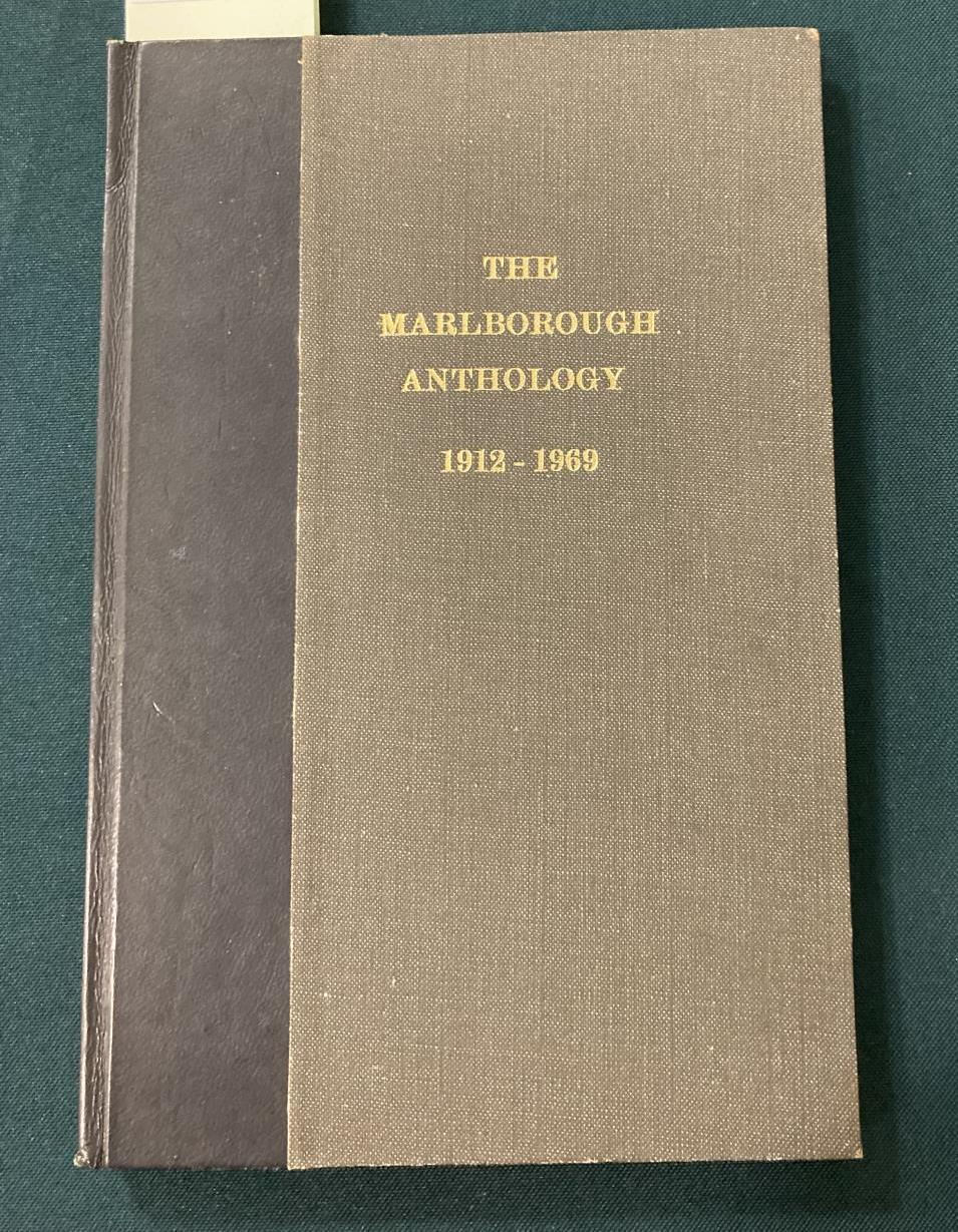 Sorley, Charles Hamilton. Marlborough and other poems, first edition, photographic portrait