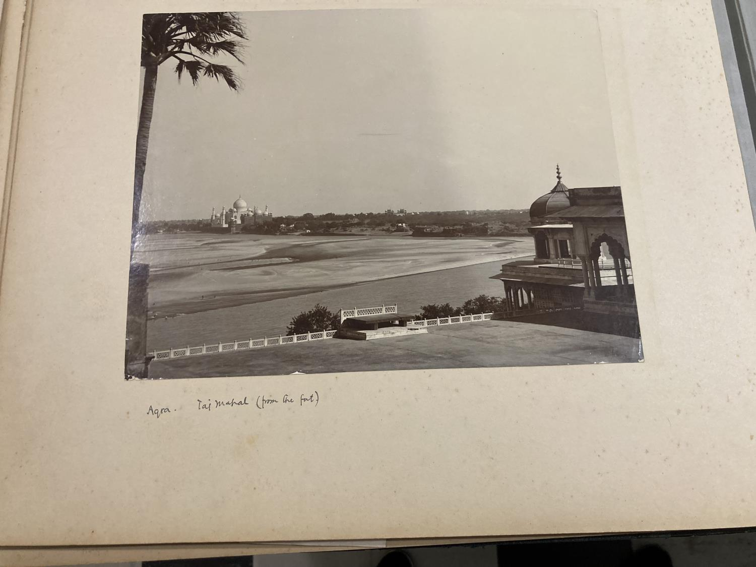 India. An early twentieth-century photograph album containing approx. 120 mounted photographs - Image 8 of 10