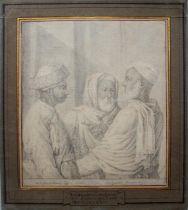JEAN BAPTISTE MAUZAISSE (1784-1844) AMBASSADEURS DU SULTAN TIPOO SAIB ADMIS A L'AUDIENCE DU ROY LE.