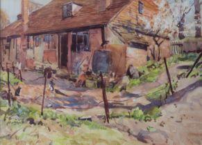 ARTHUR RACKHAM, RWS (1867-1939) CHIDDINGSTONE Signed, watercolour and bodycolour 19.5 x 27.5cm.
