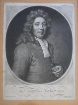 JOHN SMITH (1652-1743), AFTER SIR GODFREY KNELLER (1646-1723) THO[MAS] TOMPION, AUTOMATOPAEUS