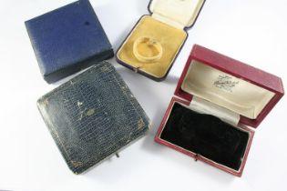 TWENTY ASSORTED ANTIQUE JEWELLERY BOXES