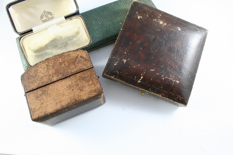 TWENTY ASSORTED ANTIQUE JEWELLERY BOXES - Image 2 of 5