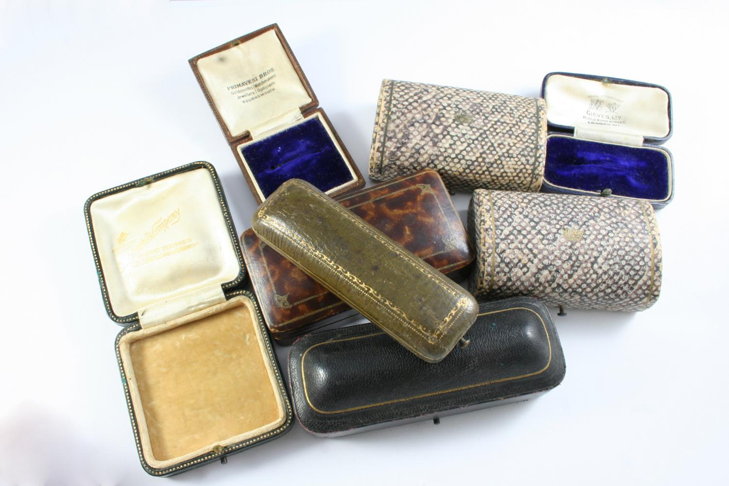A LARGE QUANTITY OF ASSORTED ANTIQUE JEWELLERY BOXES - Image 6 of 8