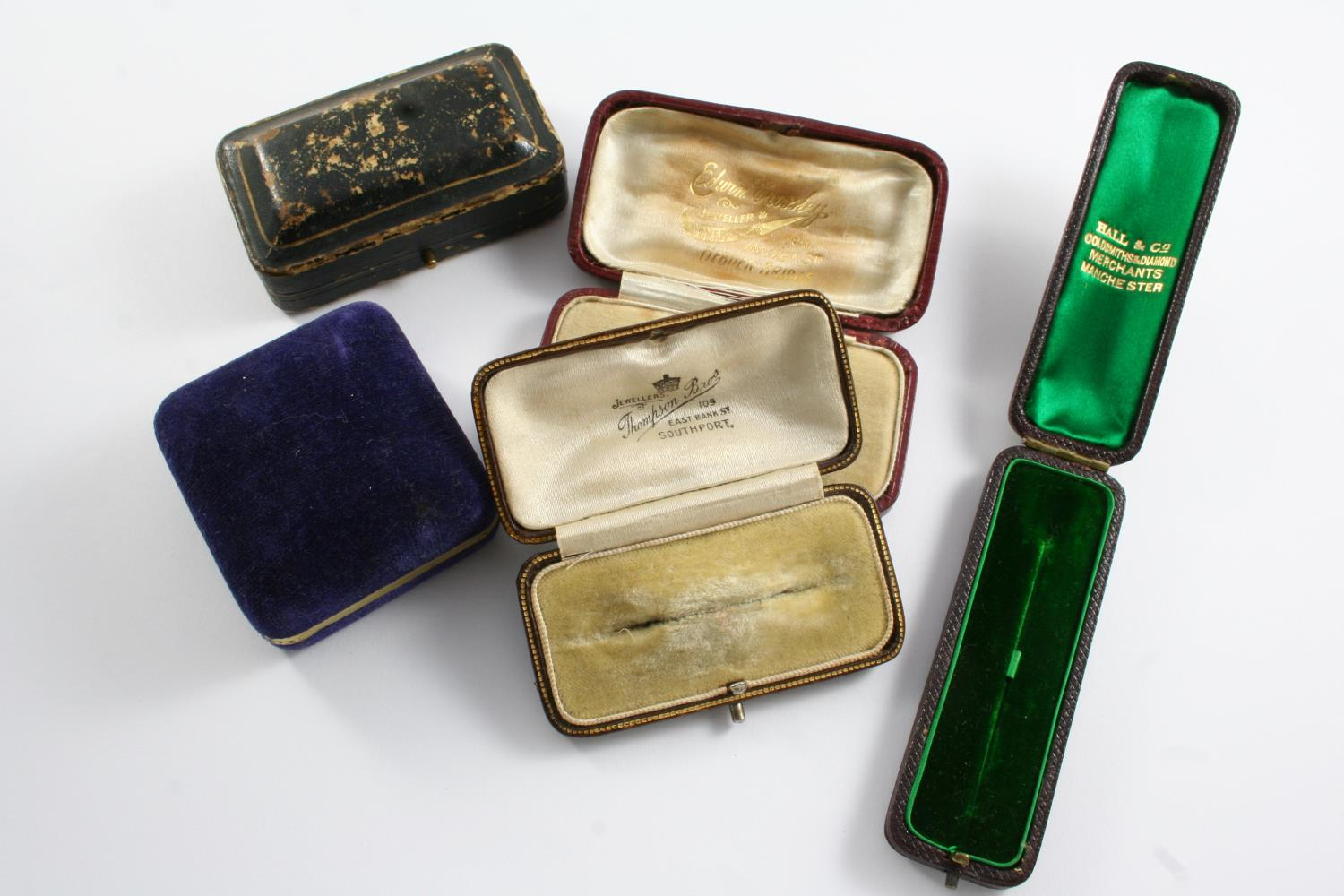 THIRTEEN ASSORTED JEWELLERY BOXES - Image 2 of 2
