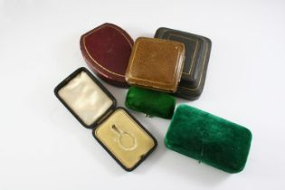 A LARGE QUANTITY OF ASSORTED ANTIQUE JEWELLERY BOXES